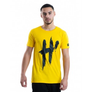 T-shirt H'echbone Jaune